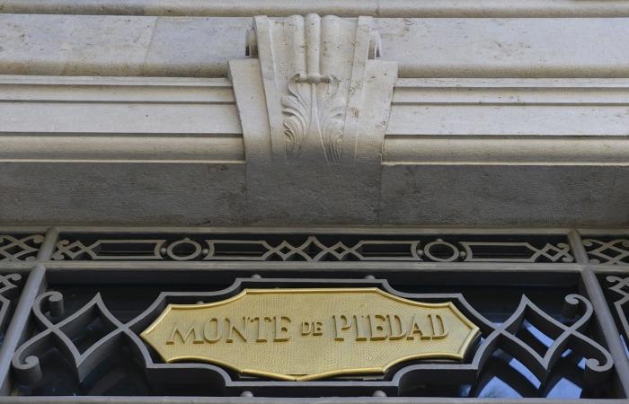 Rótulo Monte de Piedad Valencia